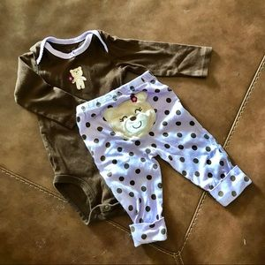 Other - Carter's two-piece outfit. 6m